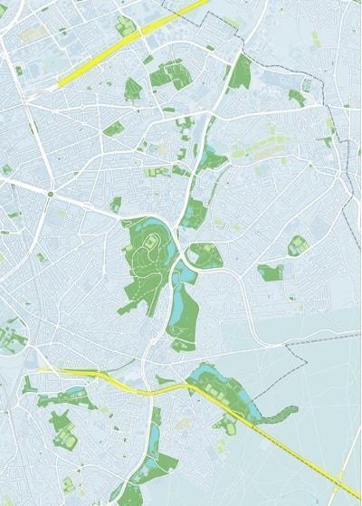 woluwe saint pierre-map